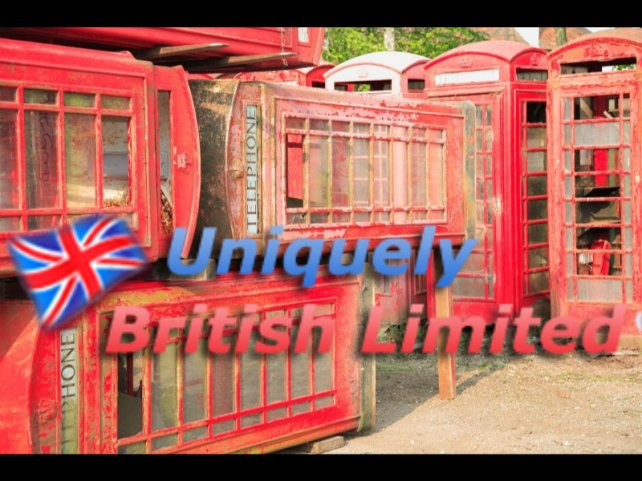 British Red K6 London Telephone Box - Fully Restored With World