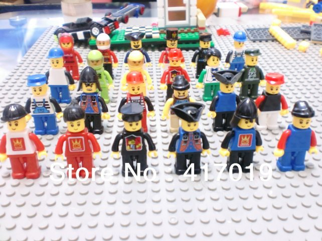 Decool 2013 new DIY 6 models ninjago minifigures ninja with