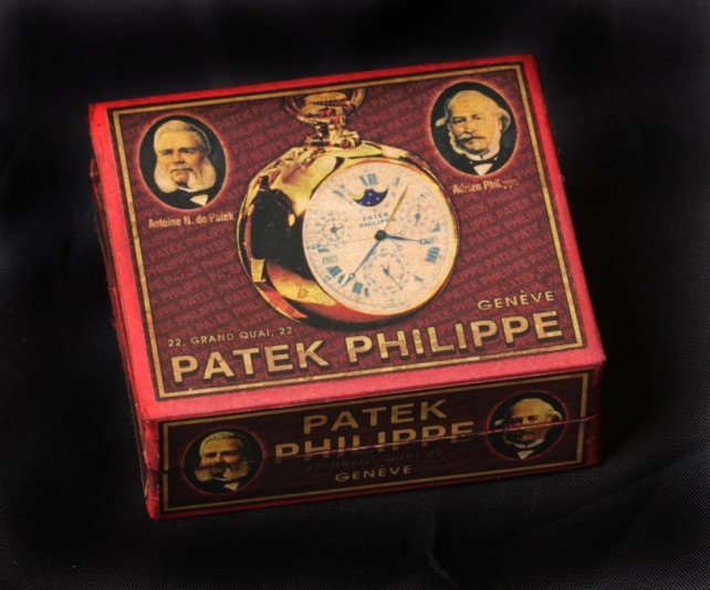 FS: Hand-made cardboard boxes for Patek Philippe,Vacheron