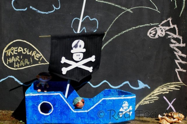 How to Make a Pirate Boat - Red Ted Art s Blog