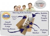 Make moving easy,buy Miami moving boxes online in a kit