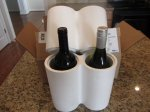 Wine shipping boxes Styrofoam